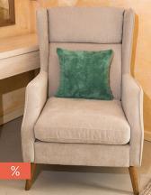 Coral Fleece Cushion 40 x 40 cm