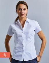 Ladies` Short Sleeve Tailored Coolmax® Shirt