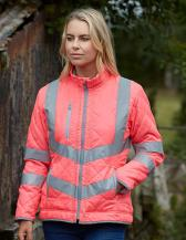 Hi-Vis Kensington Jacket With Fleece Lining