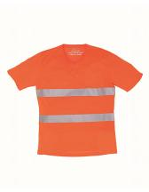 Hi-Vis Top Cool Super Light V-Neck T-Shirt